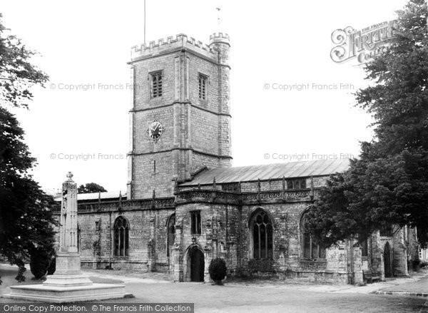 Photo of Axminster, St Mary's Church c.1955