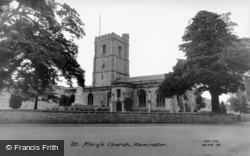 St Mary's Church c.1965, Axminster