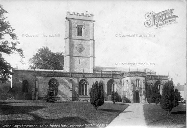 Photo of Axminster, St Mary's Parish Church 1902