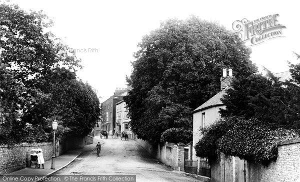 Axminster, Station Road 1902