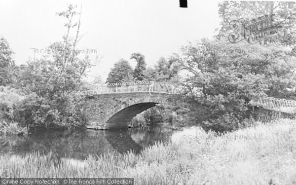 Photo of Axminster, The Bridge c.1960