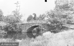 Axminster, The Bridge c.1960