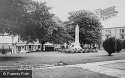 Axminster, The Memorial c.1965