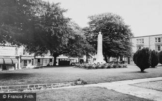 Axminster, the Memorial c1965