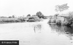 Axminster, The River c.1965