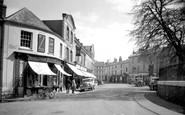 Axminster, The Square c.1940
