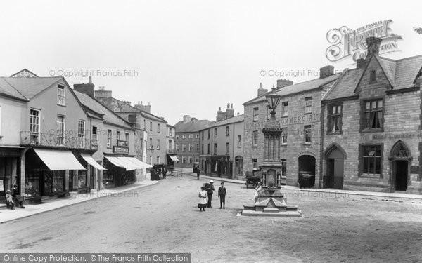 Photo of Axminster, Trinity Square 1902