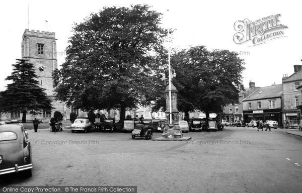 Photo of Axminster, Trinity Square c.1955