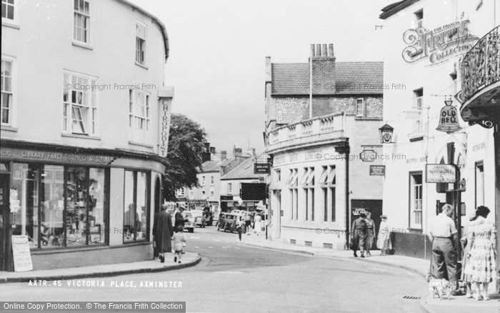Photo of Axminster, Victoria Place c.1955