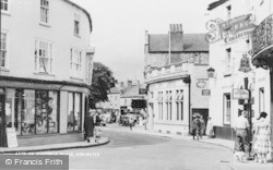 Axminster, Victoria Place c.1955