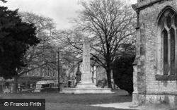 War Memorial c.1940, Axminster