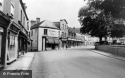 West Street And The Square c.1965, Axminster