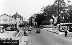 Axminster, West Street c.1960