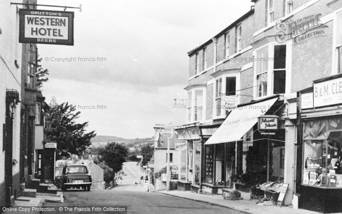 Photo of Axminster, West Street c.1960