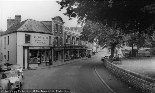 Photo of Axminster, West Street c.1965