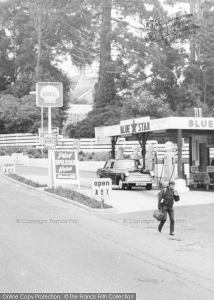 Photo of Axminster, West Street, Filling Station c.1960
