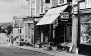 Axminster, West Street Shops c.1960