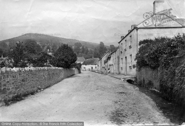 Photo of Axmouth, 1890