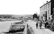 Axmouth, Harbour Entrance c1955