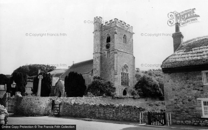 Photo of Axmouth, St Michael's Church c.1955
