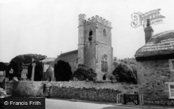 Axmouth, St Michael's Church c.1955