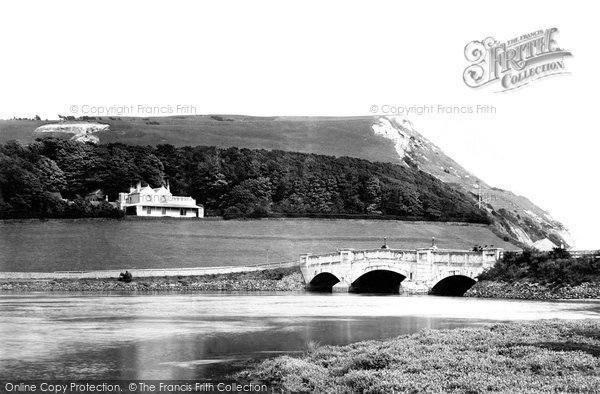 Photo of Axmouth, The Bridge And Haven Cliff 1895