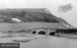 The Bridge c.1955, Axmouth