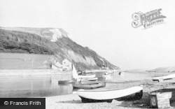 Axmouth, The Harbour c.1955