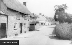 Axmouth, The Harbour Inn c.1960