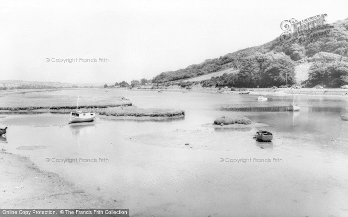 Photo of Axmouth, The River c.1960