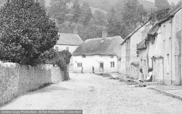 Photo of Axmouth, The Village 1890