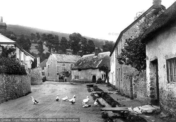 Photo of Axmouth, the Village 1898