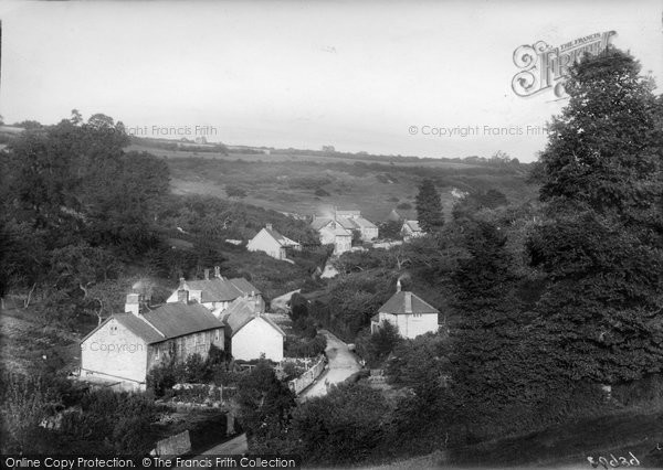 Photo of Axmouth, The Village 1918