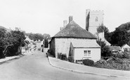 Axmouth, the Village 1927