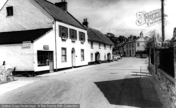 Photo of Axmouth, The Village c.1955