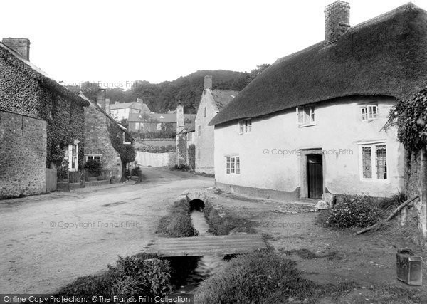 Photo of Axmouth, Village 1918
