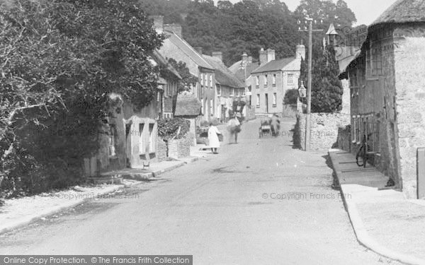 Photo of Axmouth, Village 1927