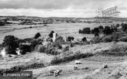 Axmouth, Village And Axe Vale c.1955