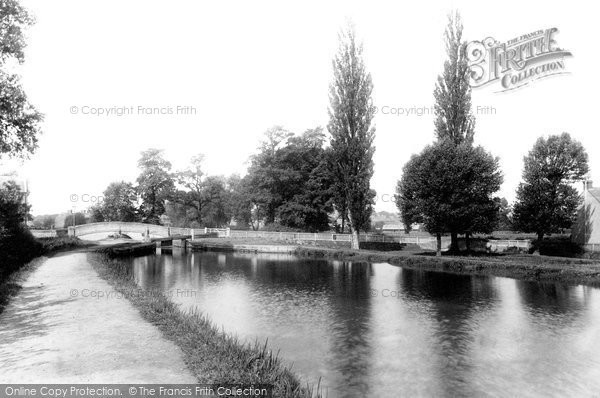 Photo of Aylesbury, Canal And Hills And Partridges Lock 1897
