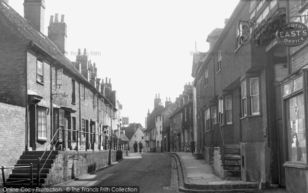 Photo of Aylesbury, Castle Street c.1955