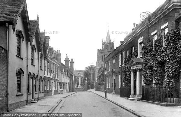 Photo of Aylesbury, Church Street 1921
