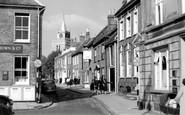 Aylesbury, Church Street c.1960