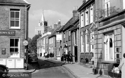 Aylesbury, Church Street c.1960