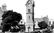 Aylesbury, Clock Tower And Market Square c.1955