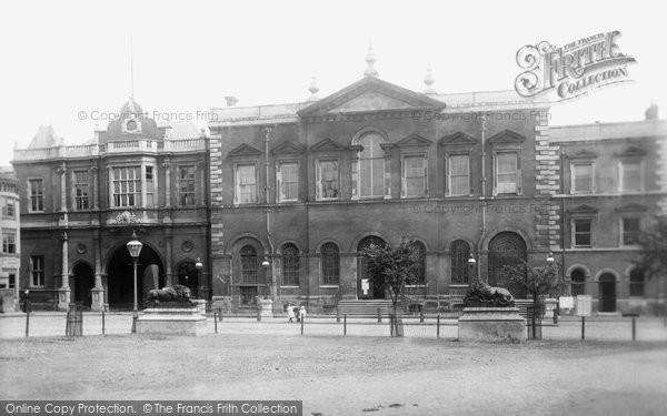 Photo of Aylesbury, County Hall 1897