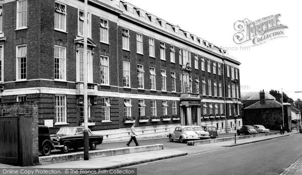 Photo of Aylesbury, County Office c.1965