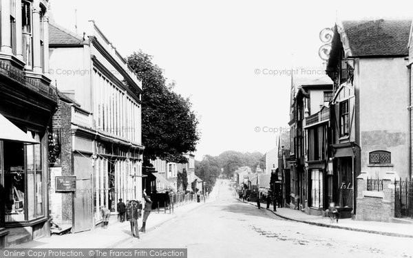 Photo of Aylesbury, High Street 1897