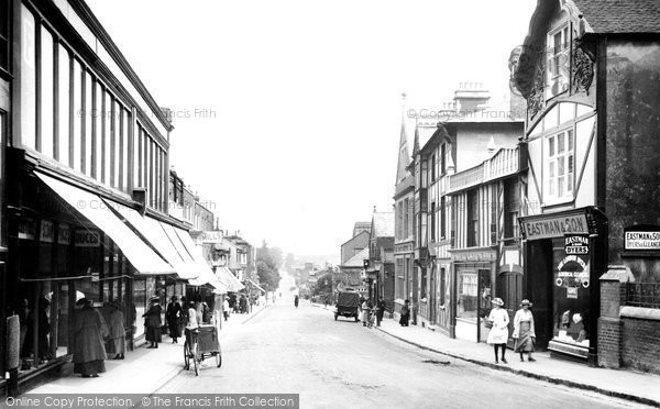 Photo of Aylesbury, High Street 1921