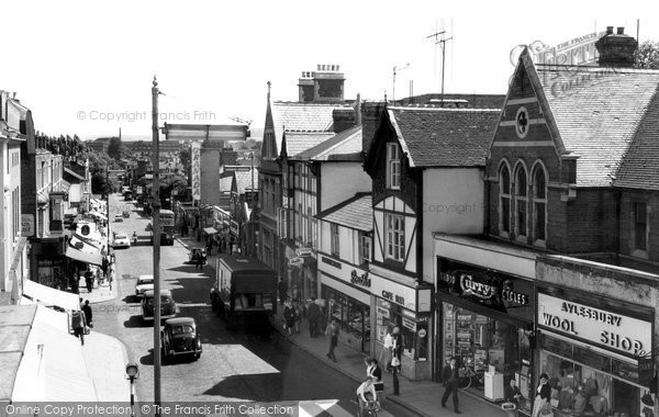 Photo of Aylesbury, High Street c.1960