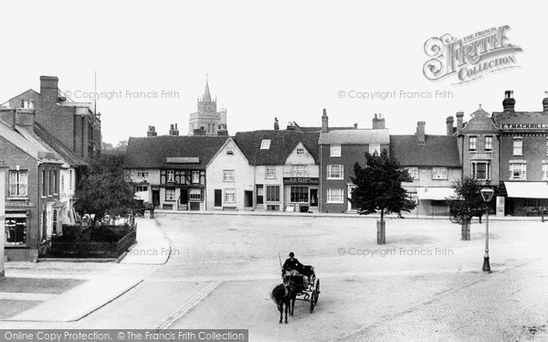 Photo of Aylesbury, Kingsbury Square 1901